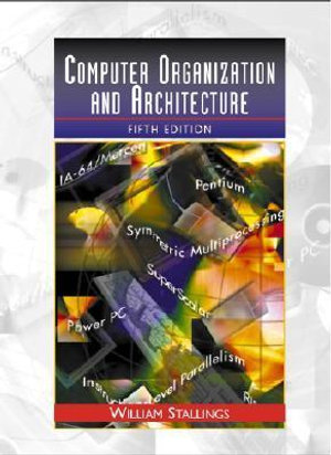 Cover of Computer organization and architecture