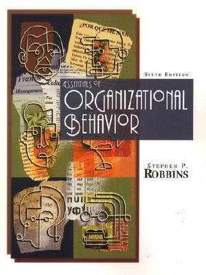 Cover of Outlines and Highlights for Essentials of Organizational Behavior by Robbins