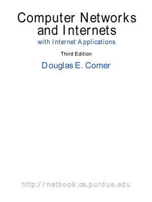 Cover of Computer Networks and Internets