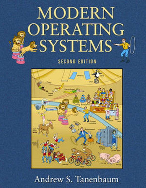 Cover of Modern Operating Systems 2/e.