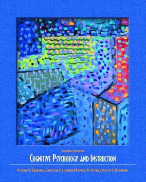 Cover of Cognitive psychology and instruction