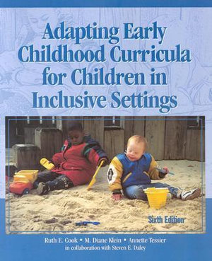 Cover of Adapting Early Childhood Curricula for Children in Inclusive Settings