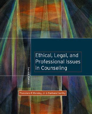 Cover of Ethical, Legal, and Professional Issues in Counseling