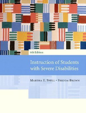 Cover of Instruction of Students with Severe Disabilities