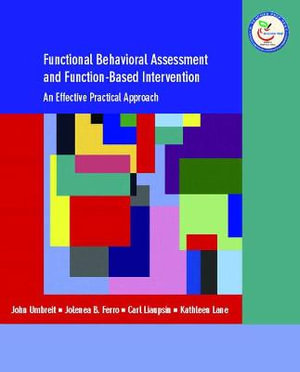 Cover of Functional Behavioral Assessment and Function-based Intervention