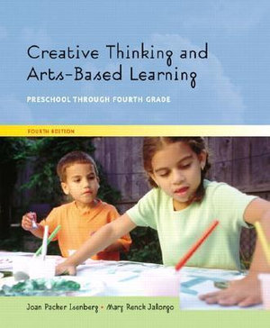 Cover of Creative Thinking and Arts-Based Learning