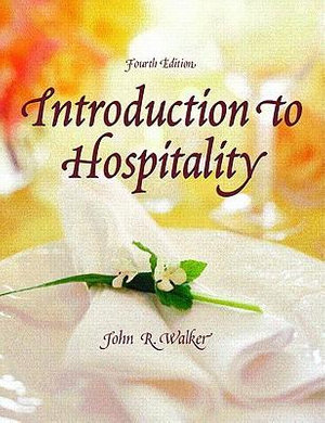 Cover of Introduction to Hospitality