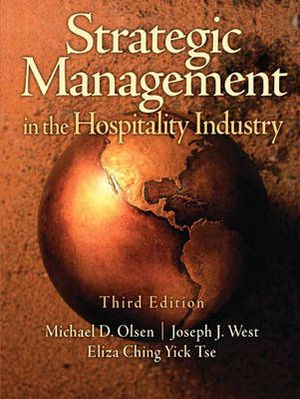 Cover of Strategic Management Hospitality Indust