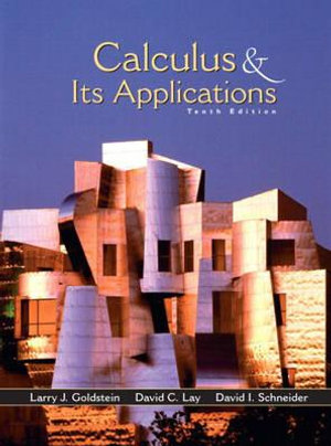 Cover of Calculus and Its Applications