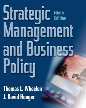 Cover of Strategic Management and Business Policy