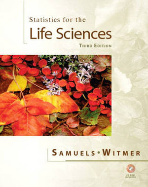 Cover of Statistics for the Life Sciences