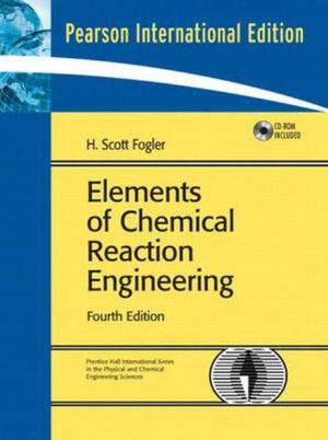 Cover of Elements Chemical Reaction Eng Pie