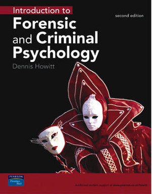 Cover of Introduction to Forensic and Criminal Psychology