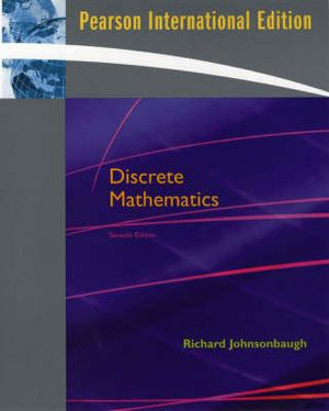 Cover of Discrete Mathematics     Pie