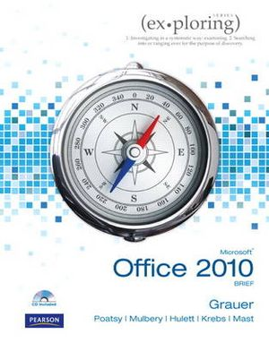 Cover of Exploring Microsoft Office 2010 Brief