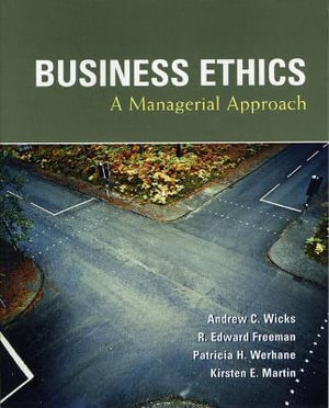 Cover of Business Ethics: A Managerial Approach