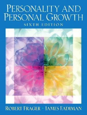 Cover of Personality and Personal Growth