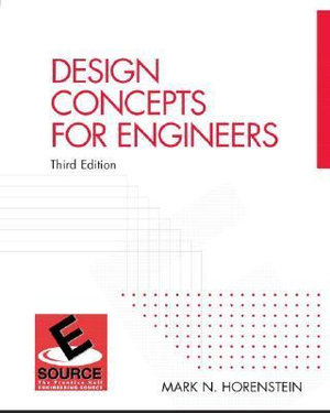 Cover of Design Concepts for Engineers
