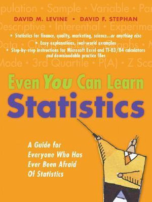 Cover of Even You Can Learn Statistics