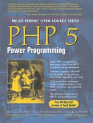 Cover of PHP 5 Power Programming
