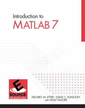 Cover of Introduction to MATLAB 7