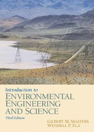 Cover of Introduction to environmental engineering and science