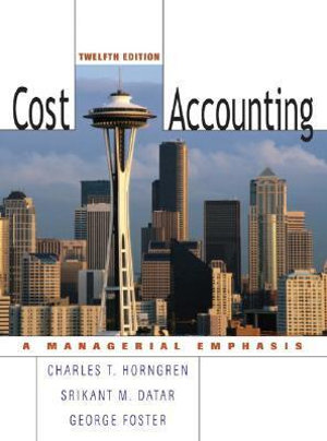 Cover of Cost Accounting