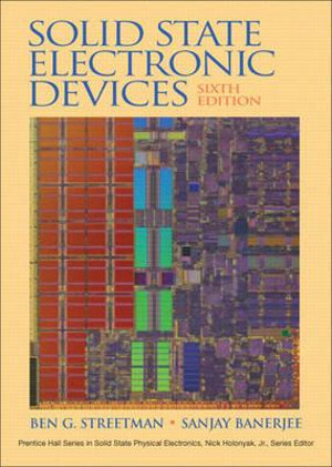 Cover of Solid State Electronic Devices