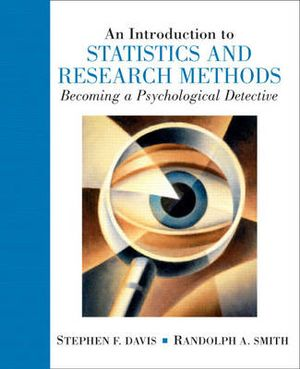 Cover of Intro Statistics Research Methods: Becoming a Psychological Detective