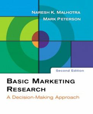 Cover of Basic marketing research