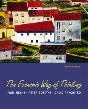 Cover of The Economic Way of Thinking
