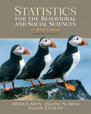 Cover of Statistics for the Behavioral and Social Sciences