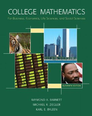 Cover of College Mathematics for Business, Economics, Life Sciences and Social Sciences
