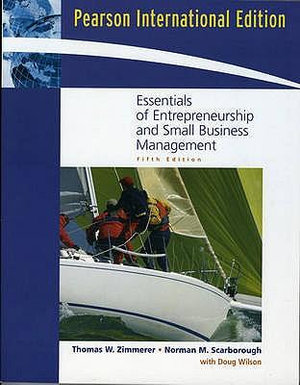 Cover of Essentials of Entrepreneurship and Small Business Management