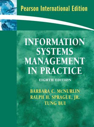 Cover of Information Systems Management in Practice