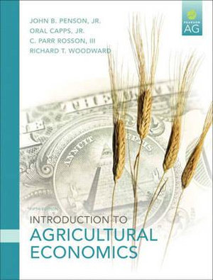 Cover of Intro to Agricultural Economics   cp