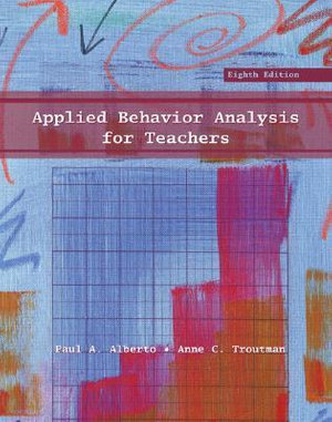 Cover of Applied Behavior Analysis for Teachers