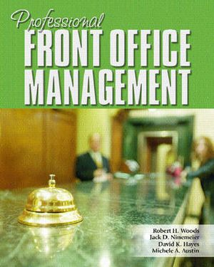 Cover of Professional Front Office Management