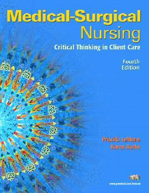 Cover of Medical Surgical Nursing: Critical Thinking In Client Care, Combined    Volume