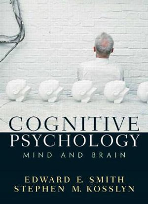 Cover of Cognition Psychology                 Cp