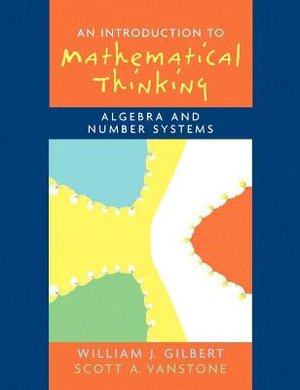 Cover of An Introduction to Mathematical Thinking