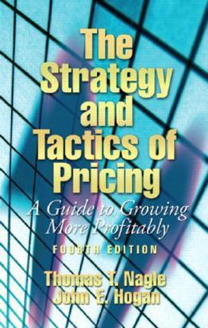 Cover of The Strategy and Tactics of Pricing