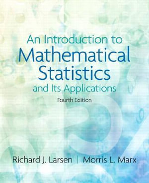 Cover of An Introduction to Mathematical Statistics and Its Applications