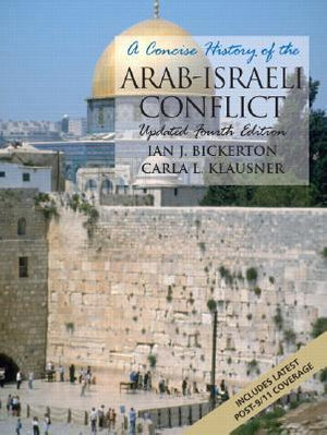 Cover of A Concise History of the Arab-Israeli Conflict