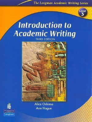Cover of Introduction To Academic Writing
