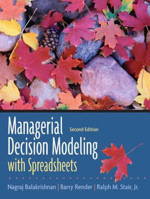 Cover of Managerial Decision Modeling with Spreadsheets