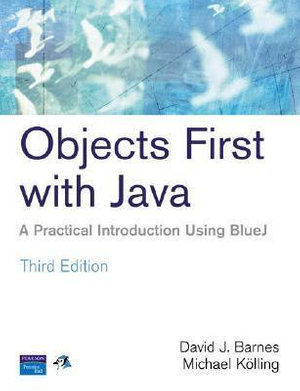 Cover of Objects First with Java