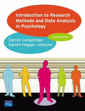 Cover of Introduction to Research Methods and Data Analysis in Psychology