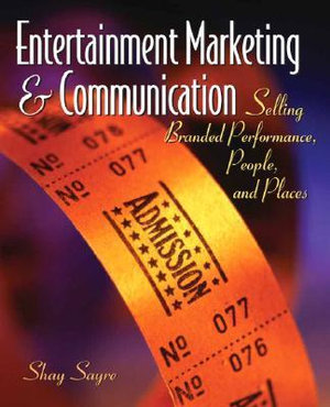 Cover of Entertainment Marketing & Communication