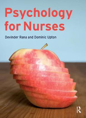 Cover of Psychology for Nurses